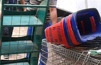 حملة لإزالة الإشغالات والمخالفات بحي الدقي