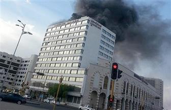 حريق في المدينة المنورة وإجلاء 120 شخصًا