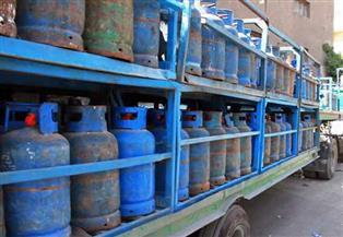 ضبط مستودع يبيع أسطوانات الغاز بأزيد من التسعيرة بدمياط