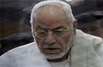 الداخلية: مهدي عاكف توفي داخل محبسه بمستشفى قصر العيني إثر تعرضه لهبوط حاد في الدورة الدموية