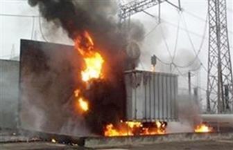 قطع الكهرباء عن 3 مدن بكفر الشيخ بسبب حريق محطة محولات بلطيم