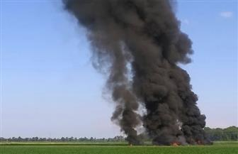 ارتفاع حصيلة تحطم طائرة عسكرية بشرقي أوكرانيا إلى 25 قتيلا