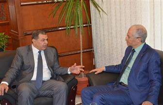 وزير القوي العاملة يبحث مع نظيره التونسي تعزيز التعاون المشترك في مجال التشغيل