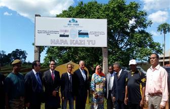 وزير الري يبحث مع مسئولي المياه في تنزانيا مشروعات التعاون الثنائي والتنمية المشتركة | صور