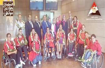 """""""معلومات الوزراء"""" يهنئ منتخب مصر لذوي القدرات الخاصة لحصولة على 12 ميدالية ببطولة السباحة بألمانيا"""