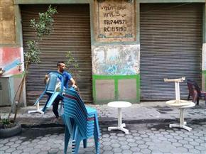 حملة لمراجعة تراخيص المحال والورش في حي شبرا