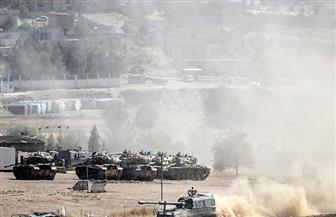 اندلاع حريق هائل وانفجارات ذخائر داخل ثكنة عسكرية للجيش التركي