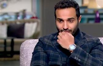 أحمد فهمى يكشف آخر تطورات الحالة الصحية لزوجته هنا الزاهد