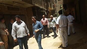 حملة بحي السلام أول لرفع تعديات شارع الخمسين