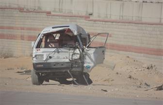 مصرع طفلة وإصابة 3 أشخاص إثر انقلاب سيارة بالبحيرة