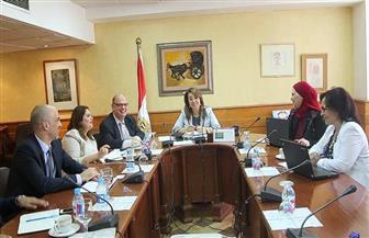 غادة والي تجتمع مع وزير التربية والتعليم للإعداد منظومة التغذية المدرسية