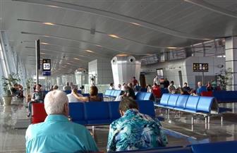 وصول 1600 سائح ألماني على متن 9 رحلات إلي مطار الغردقة الدولي