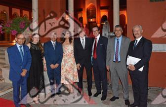 السفير الفرنسى يشيد بجهود مصر في مكافحة الإرهاب فى الاحتفال بالعيد القومي لبلاده