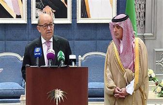 لودريان من جدة: نحيي السعودية على دورها فى مكافحة الإرهاب