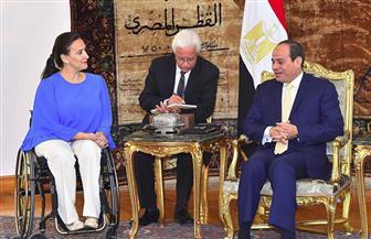 """خلال استقباله ميتشي.. """"السيسي"""" يؤكد التعاون الوثيق بين مصر والأرجنتين في مجالات الطاقة النووية"""