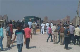 اشتباكات بين الأهالي و الأمن أثناء حملة لإزالة تعديات على النيل بالوراق.. وضبط عدد من مثيري الشغب