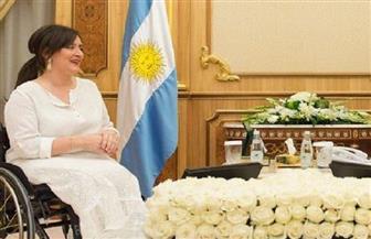 عبد العال يدعو نائب رئيس الأرجنتين إلى ضخ مزيد من الاستثمارات في الأسوق المصرية