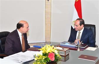 السيسي يشيد بجهود هيئة قناة السويس والعامة  الاقتصادية لمنطقة القناة