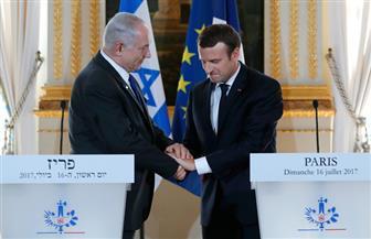 نتنياهو لماكرون: أفضل تسوية سياسية مع العرب بالتوازي مع الفلسطينيين.. وأتشكك بالجهود الأمريكية للسلام