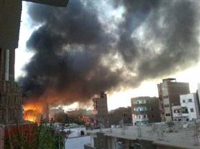 رئيس مدينة إدفو ينفي استشهاد مجند في حريق السوق التجاري بأسوان