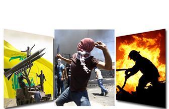 قانون الإرهاب.. يوم الغضب.. أحداث الأقصى.. حريق أسوان.. شكري في العراق.. بنشرة التاسعة
