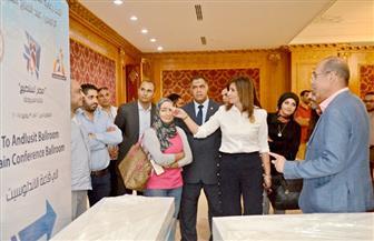 """بدء توافد الضيوف المشاركين بفعاليات مؤتمر """"مصر تستطيع بالتاء المربوطة"""" استعدادًا لانطلاقه"""