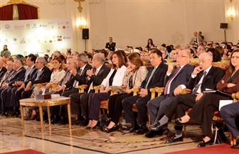"""منعها المرض من الحضور.. وزيرة الهجرة تكرم ريم الشاذلي الغائبة عن """"مصر تستطيع بالتاء المربوطة"""""""