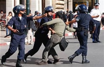 الشرطة تطلق الغاز المسيل للدموع لتفريق محتجين في شمال المغرب