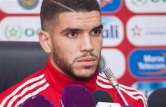 المغربي أزارو يشارك في مران الأهلي الجماعي قبل البطولة العربية