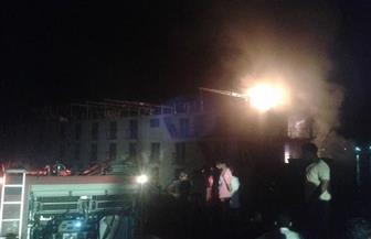 السيطرة على حريق بمصنع للغزل والنسيج بالعاشر من رمضان