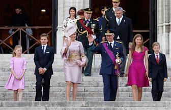 وسط إجراءات أمنية مشددة ..الأسرة الملكية ببلجيكا تحتفل باليوم الوطني   صور