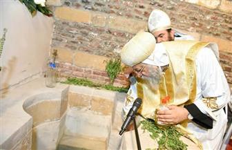 بعد 30 عامًا من الترميم.. البابا تواضروس يدشن كنيسة أبي سيفين الأثرية