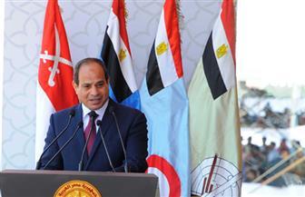 وصايا ورسائل وتحذيرات .. ننشر نص كلمة السيسي خلال افتتاح قاعدة محمد نجيب العسكرية