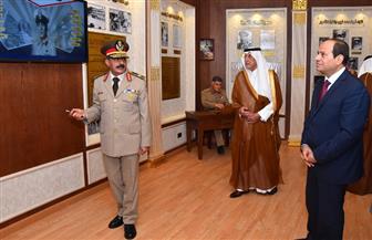 الرئيس السيسي يفتتح متحف محمد نجيب  فيديو