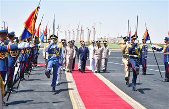 السيسي يصل إلي مدينة الحمام لافتتاح أكبر قاعدة عسكرية بمصر والشرق الأوسط