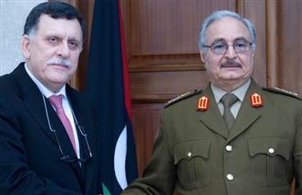 الإليزيه: حفتر والسراج يتعهدان بوقف إطلاق النار وإجراء انتخابات رئاسية وبرلمانية قريبًا