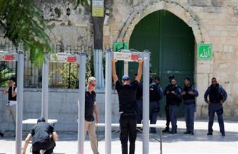 """الرئيس الفلسطيني: لن نسمح بالبوابات الإلكترونية على أبواب """"الأقصى"""""""
