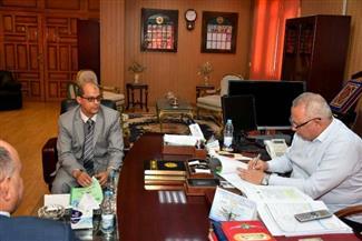 محافظ الشرقية يوقع بروتوكول تعاون مع الهيئة المصرية العامة للمساحة لميكنة أراضي الدولة