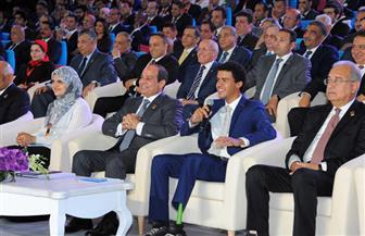 تعرف على ياسين الزغبي الذي قال السيسي إنه يتشرف بالجلوس بجواره بمؤتمر الشباب
