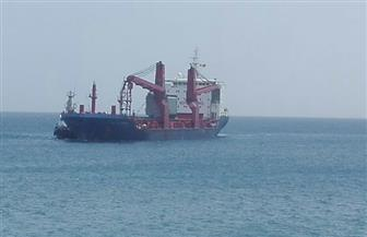 وصول سفينتين على متنهما 80 طرد معدات قادمتين من إيطاليا إلى ميناء سفاجا   صور