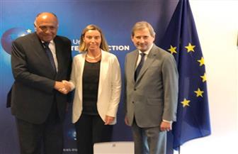 الخارجية: القضايا الإقليمية وقطر أبرز ملفات حوار شكري السياسي مع مسئولين أوروبيين
