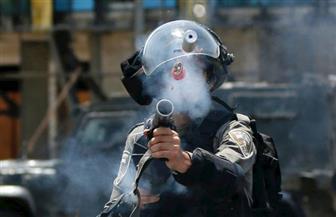 الاحتلال الإسرائيلي يعتدي على الطواقم الصحفية بباب الأسباط المؤدي للمسجد الأقصى