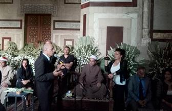 زوجة شاه إيران تُحيي ذكرى وفاة زوجها بجامع الرفاعي بحضور جيهان السادات | صور