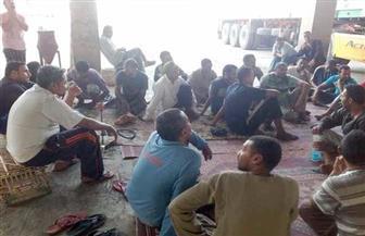 ضبط 10 من عمال مصنع أسمنت أسوان المضربين بتهمة التحريض على تعطيل العمل