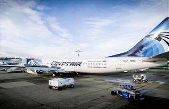 تدخل الخدمة الأسبوع القادم ..وصول طائرة مصر للطيران البوينج الجديدة مطار القاهرة