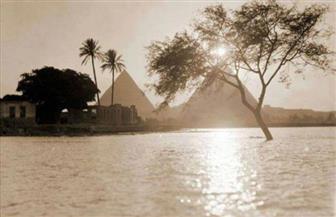 منذ 130 سنة.. قصة أقوى فيضان بمصر.. النهر يحمل الجثث من السودان وحركة القطارات تتوقف بين المحافظات   صور
