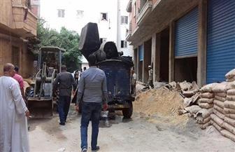 إيقاف أعمال بناء مخالف بعقار في المنتزه شرق الإسكندرية    صور