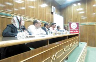 ندوة بسوهاج تناقش حقوق وواجبات المواطن تجاه قضايا المياه | صور