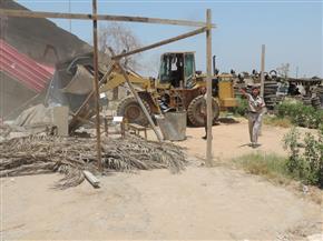إزالة 494 حالة تعدٍ على الأراضي الزراعية بمراكز وقرى قنا