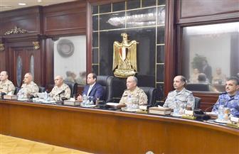 السيسي يرأس اجتماعا للمجلس الأعلى للقوات المسلحة